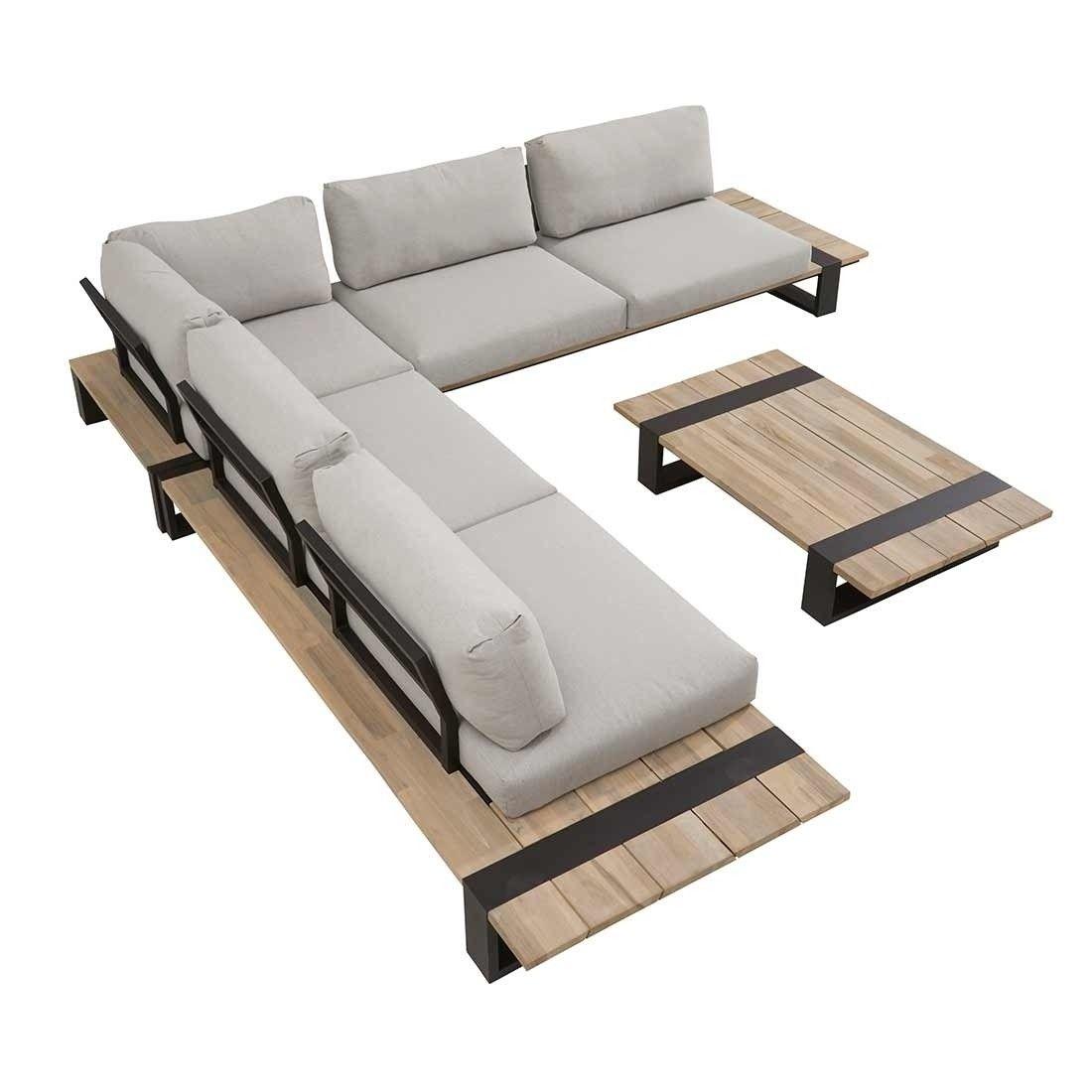 Gartenmobel Design 4seasons Duke Loungemobel Modern Loungeecke 4 Tlg Edelstahl Textil Olefin Outdoormobel Gartenl Garten Lounge Gartenmobel Design Lounge Mobel