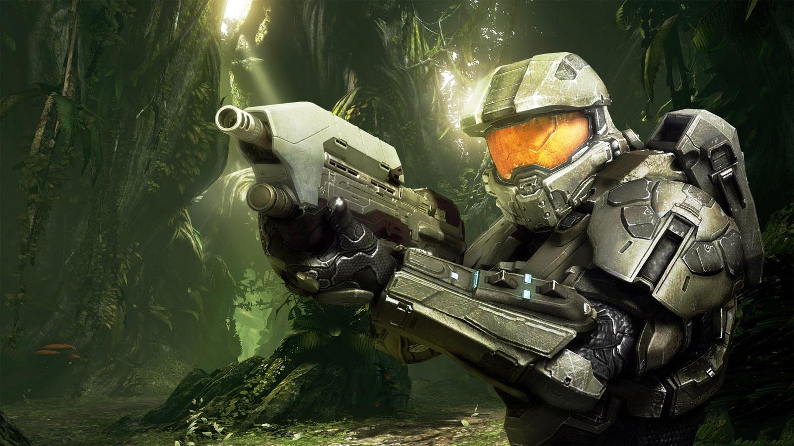 Master Chief Looking Awesome Halo Game Halo Cortana Halo