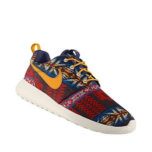 I designed this at NIKEiD, Nike Roshe Run Premium Pendleton