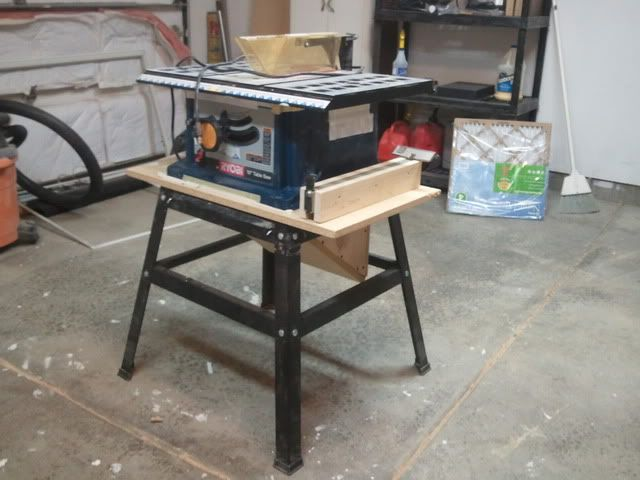 Marvelous Contractor Table Saw Dust Collection Upgrade   By Eric_S @ LumberJocks.com  ~ Woodworking Community