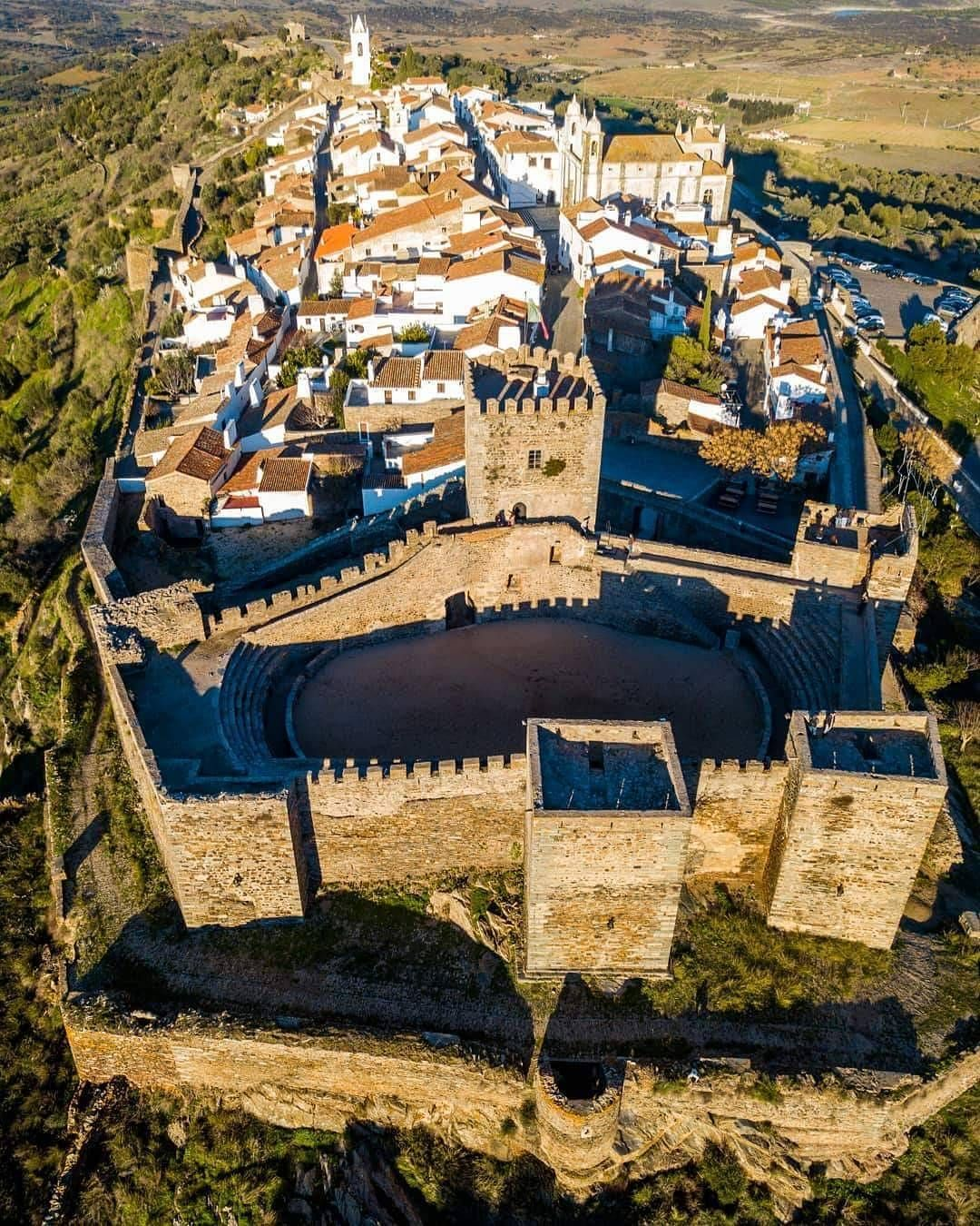 Stay In Monsaraz A Bone White And Perfectly Preserved Medieval