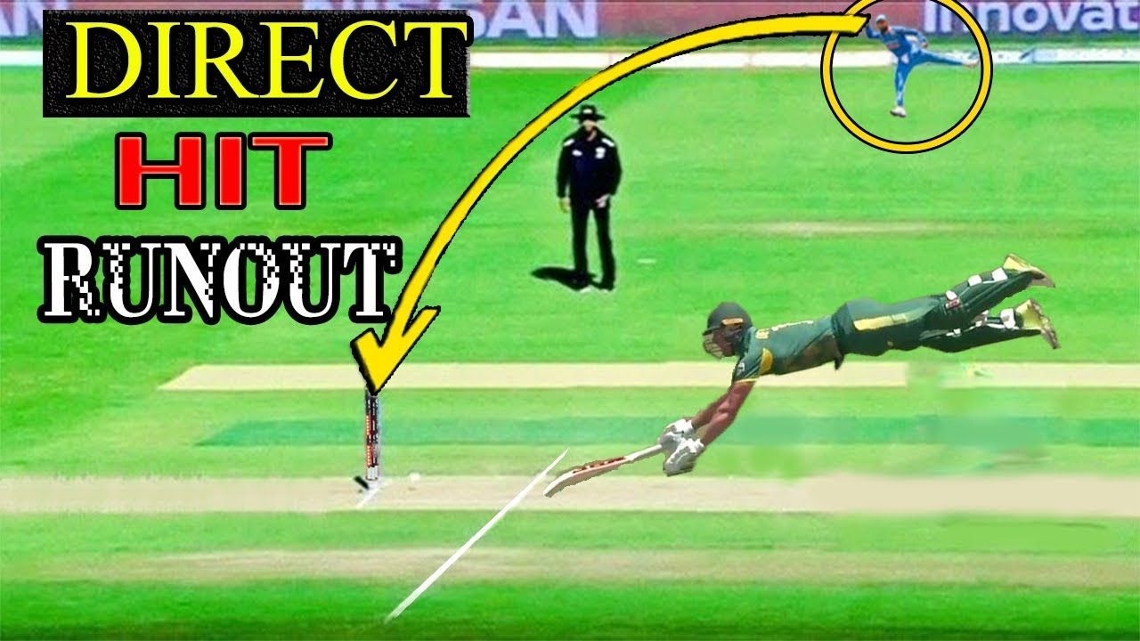 10 Fastest Direct Hit RunOuts in Cricket History