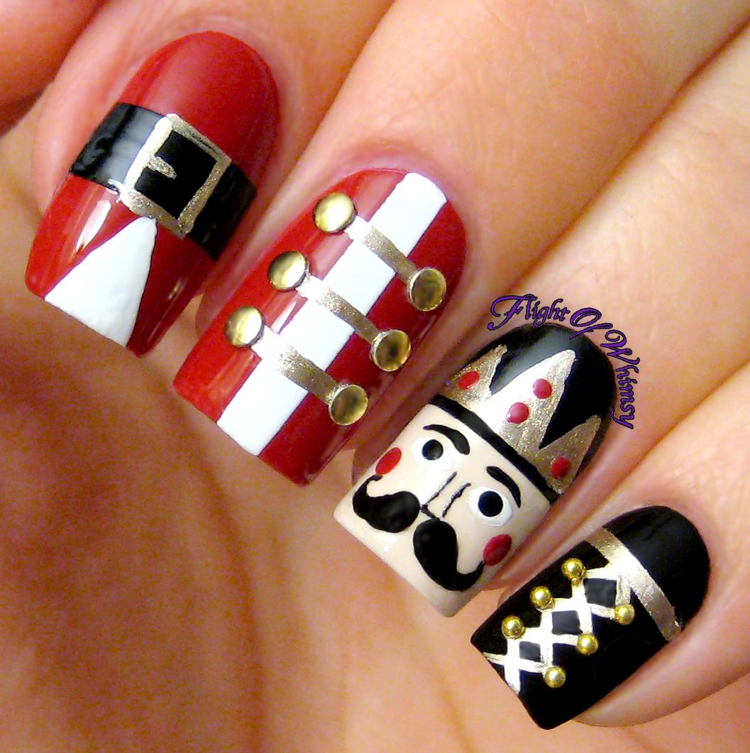 Nutcracker Winter Nails Holidays And Manicure