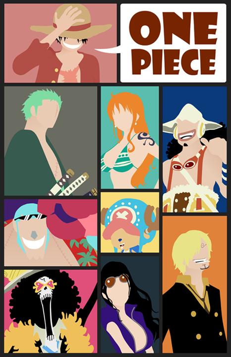 One Piece Minimalist Poster: The 9 Pirates by MinimallyOnePiece on DeviantArt