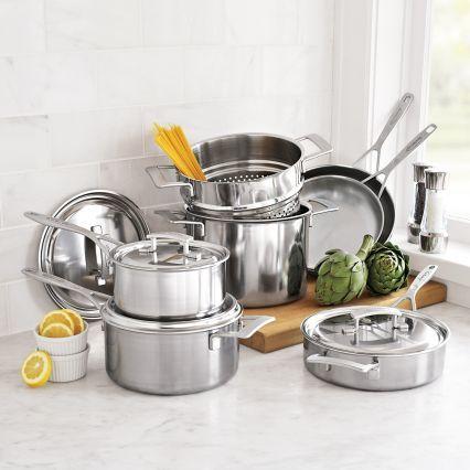 Cookware · Demeyere® Industry5 10-Piece Cookware Set | Sur La Table & Demeyere Industry5 10-Piece Cookware Set | Cookware set and Cookware
