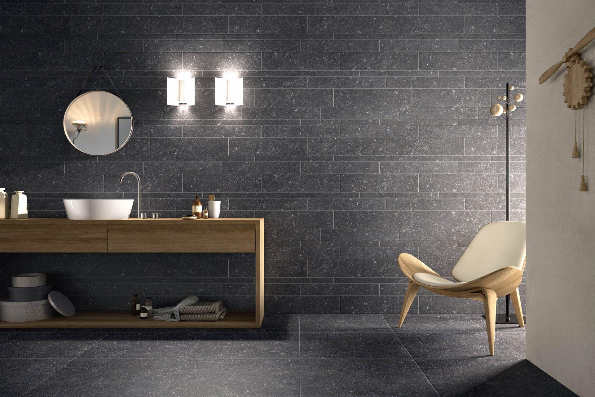 Schelfhout carrelage imitation pierre carrelages effet for Carrelage salle de bain pierre