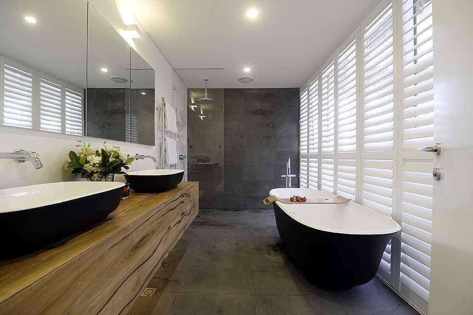 Bathroom Ideas Modern Contemporary Shower Jacuzzi Bathtub Washbasins Decor Interior Decorating Makeover Design