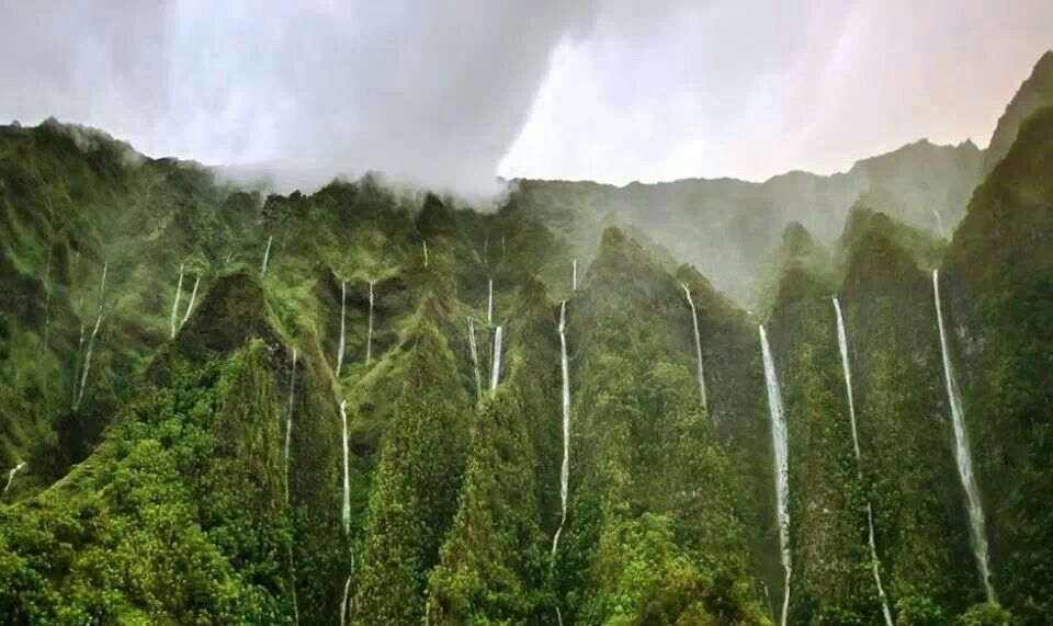 Land of a Thousand waterfalls