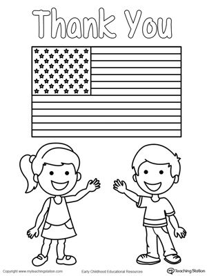 Memorial Day Thank You Heros Holiday Printable Activities