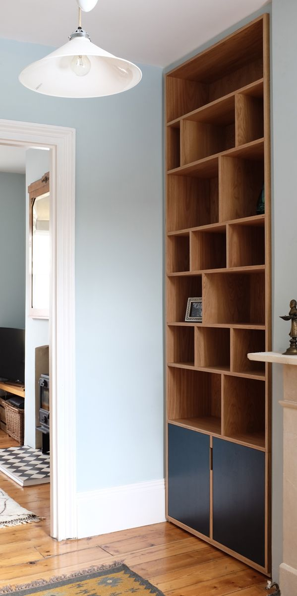 Alcove Bookcase | Alcove, Walls and Woodwork