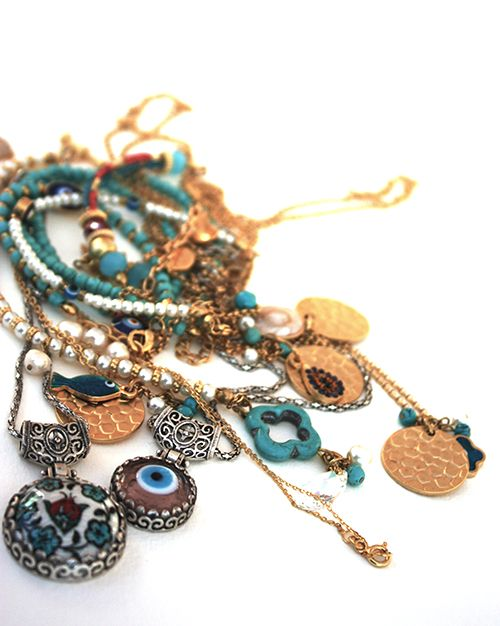 Mixed Blessings. Good luck and protection. #evil eye #goodluck #jewelry #karma #circle of life