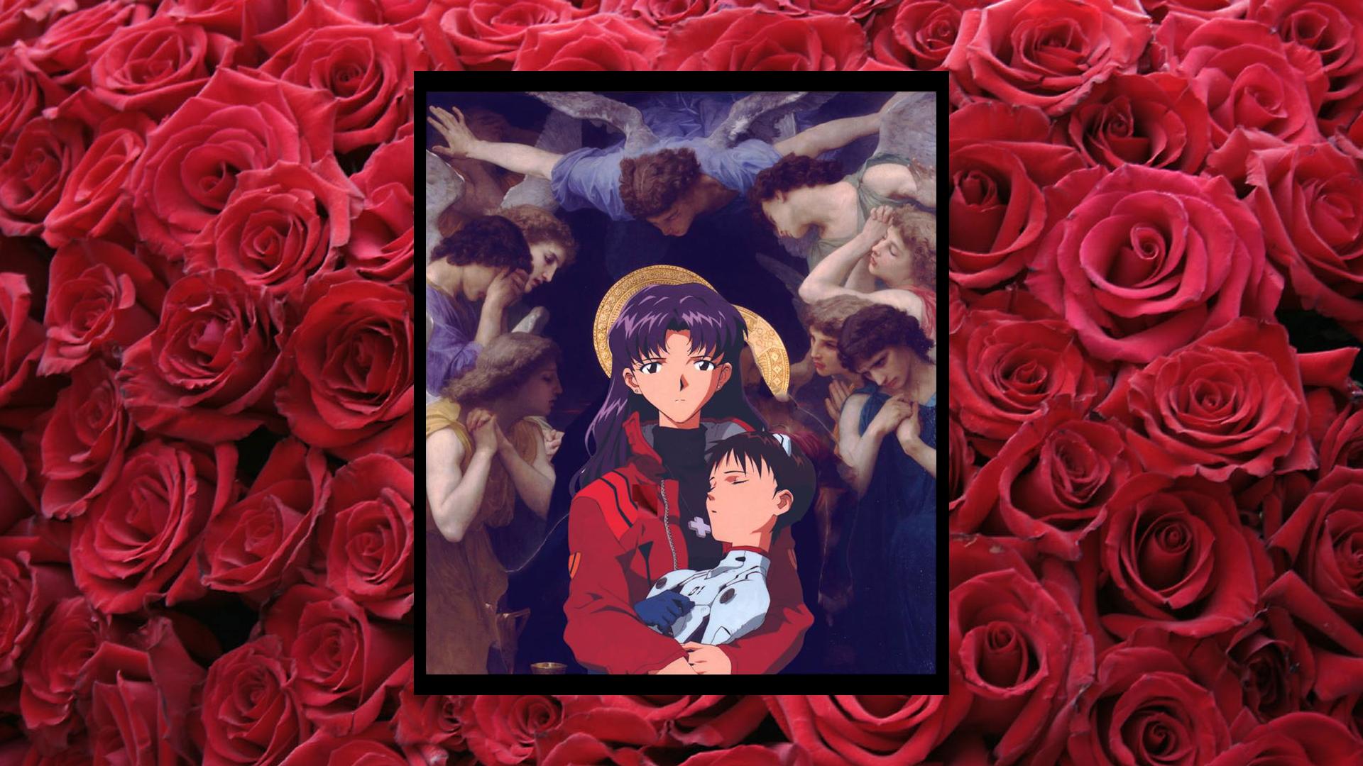 Neon Genesis Evangelion [Shinji and Misato] (1920x1080