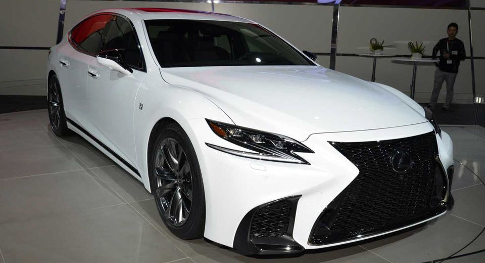 2018 Lexus LS F Sport Is All Show, No Extra Go In New York