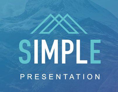 """다음 @Behance 프로젝트 확인: """"Simple - Powerpoint Premium & Easy to Edit Tmp."""" https://www.behance.net/gallery/42953161/Simple-Powerpoint-Premium-Easy-to-Edit-Tmp"""