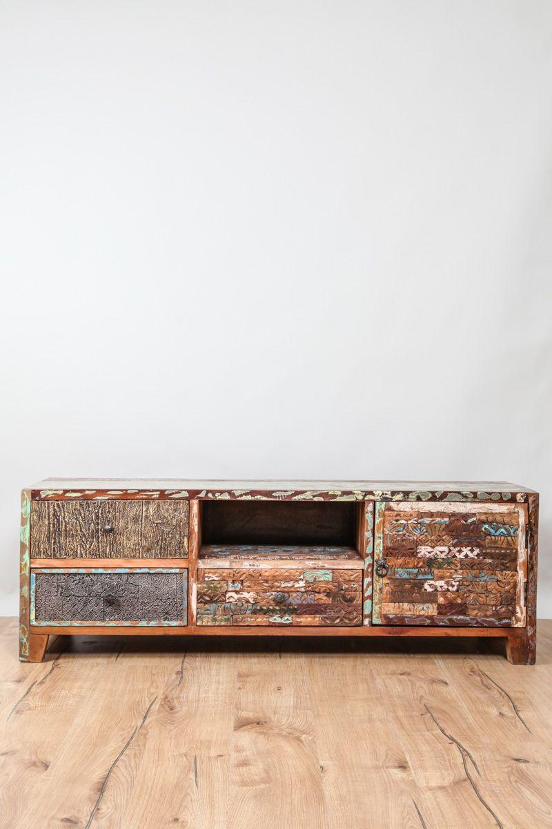 TV-Möbel Recyclingholz   Cachet Möbel - furniture   Pinterest