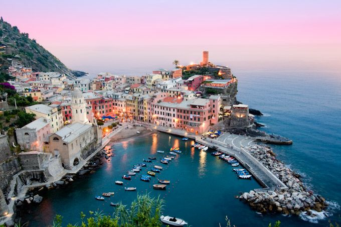 cinque terre, italy. most gorgeous place i've ever been - can't wait to return one day.