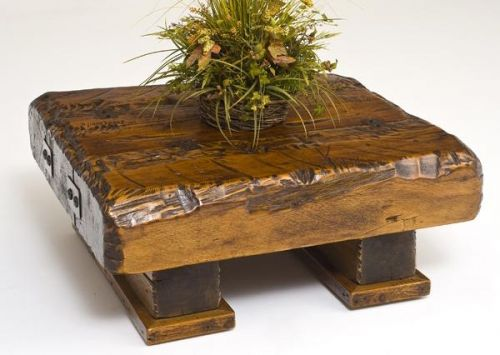 Cocktail Coffee Table Rustic