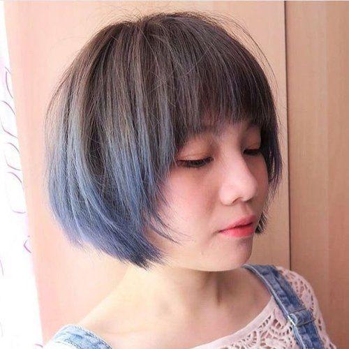 Pageboy textura del corte de pelo