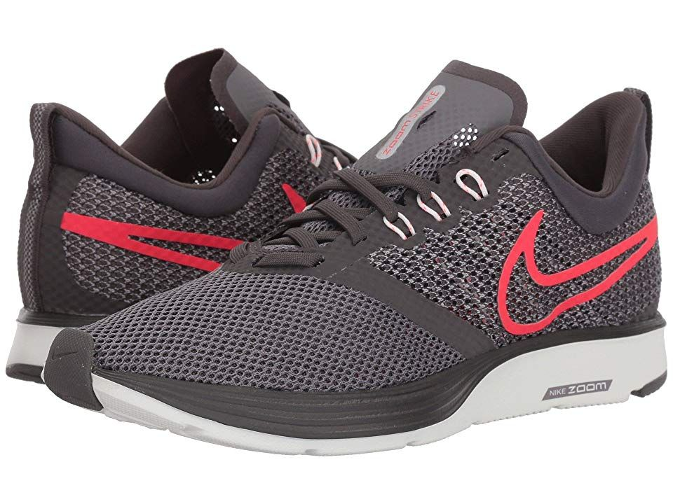 15334ad7718d1 Nike Zoom Strike (Thunder Grey Flash Crimson Gunsmoke) Women s Shoes.  Harness