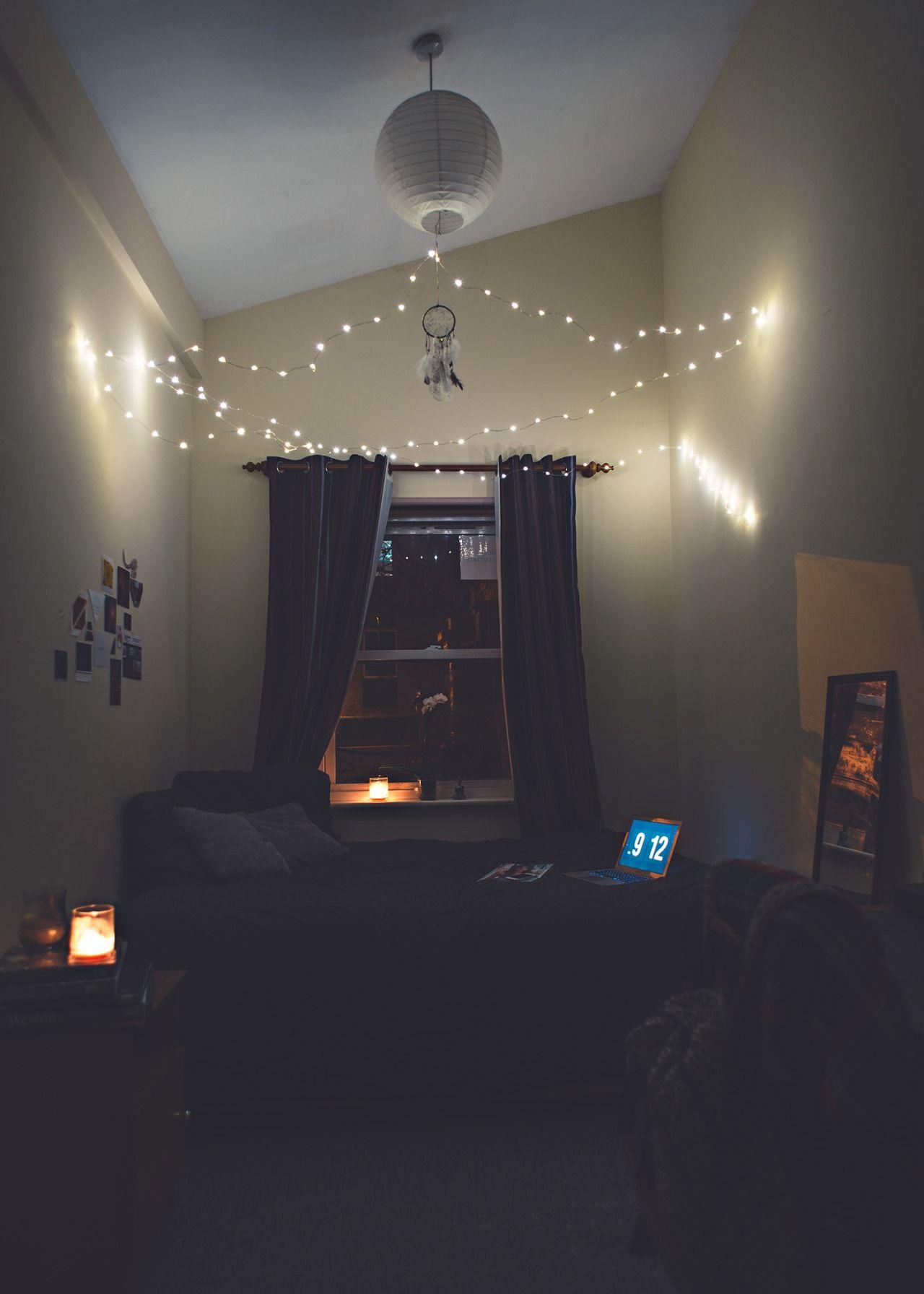 Snapchat: Life1nmot1on | Small bedroom | Interior. | small rooms ... for Diy Sleep Lamp  45ifm