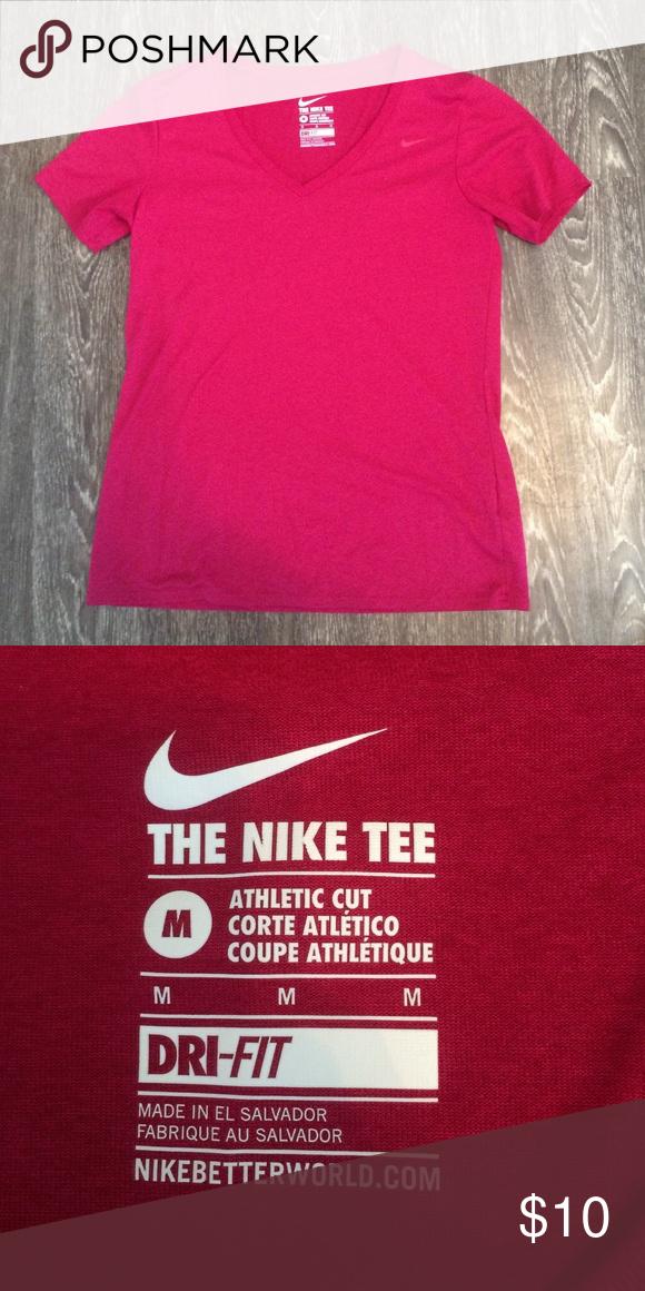 nike athletic cut t shirt