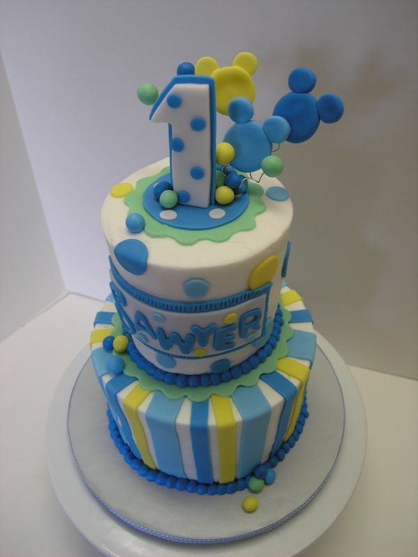 mickey mouse birthday cakes Bing Images Cakes Pinterest