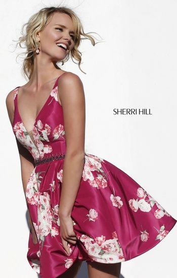275d007443 wedding guest dress - sherri hill