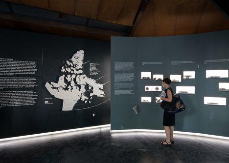 Canadian Pavilion Examines Architecture In Inuit Communities