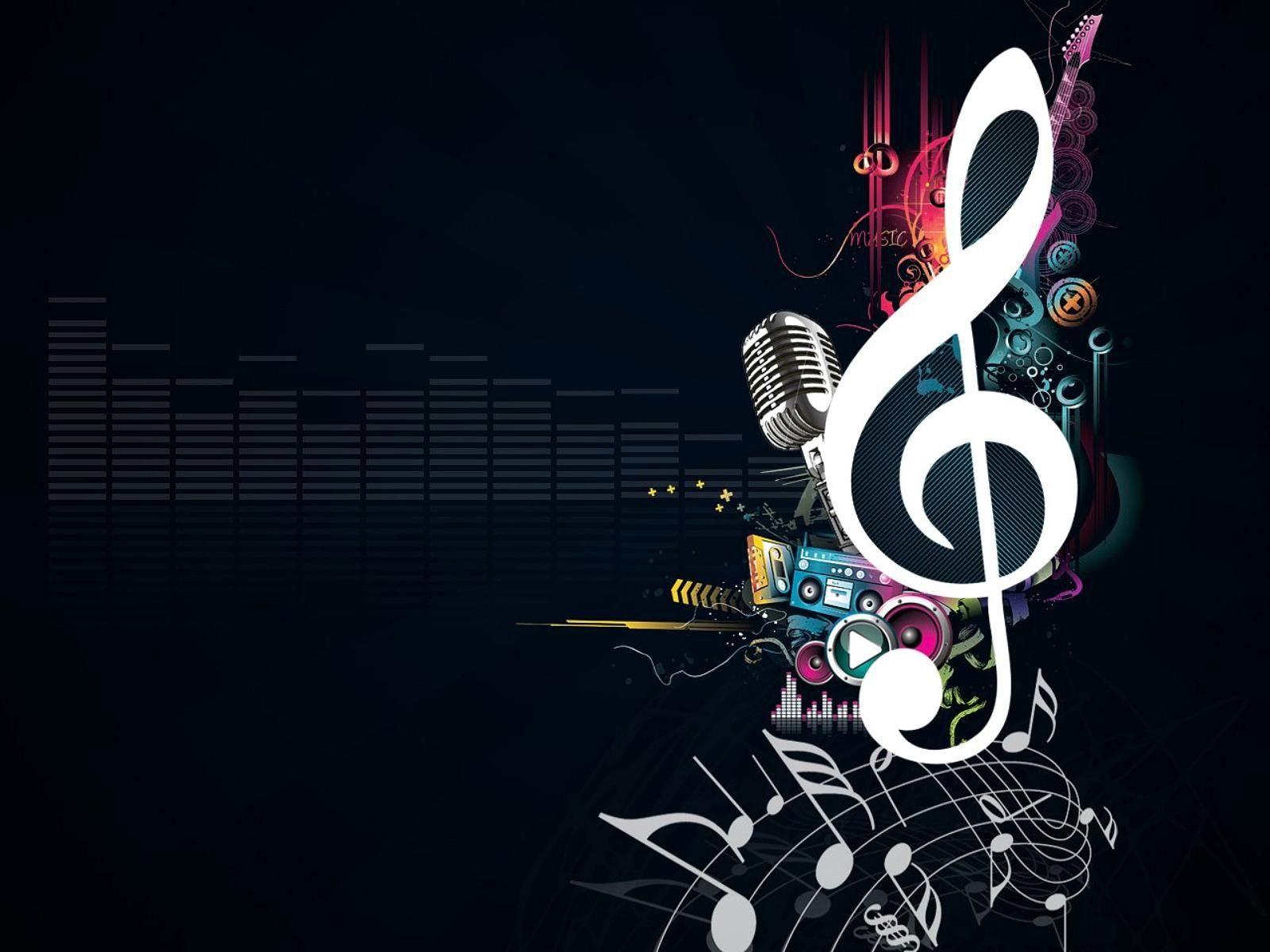 Music Design Wallpaper Purehdscreen Com Music Notes Background Music Wallpaper Art Music