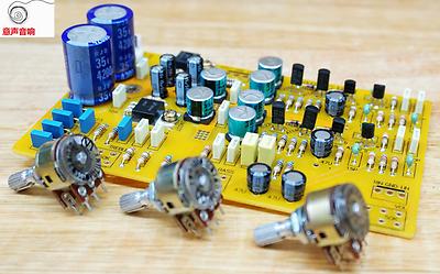 Diy Fully Separation Hifi Tone Preamp Kit Base On Uk Nad Preamplifier R175 9