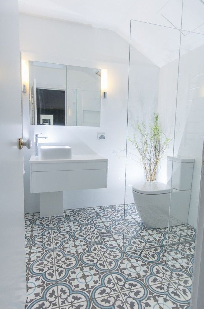 Show Off Your Creative Thinking And Also Personality With A Trendy Yet Practical Shower Room Floor Ti Best Bathroom Tiles Stylish Bathroom Modern Bathroom Tile