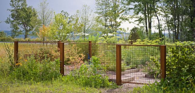 Welded Wire Panels Landscape Industrial With Corten Corten Steel Fence Fence Options Cheap Fence Backyard Fences