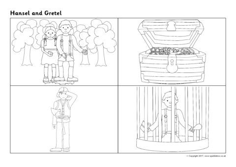 Hansel And Gretel Sequencing Sheets Sb12210 Sparklebox Free