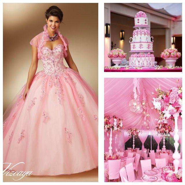 Preparativos para fiesta de Quince Anos | Quinceanera cakes ...