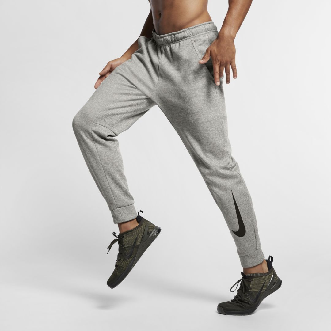 82636eb7 Nike Therma Men's Swoosh Training Pants Size 2XL (Dark Grey Heather)