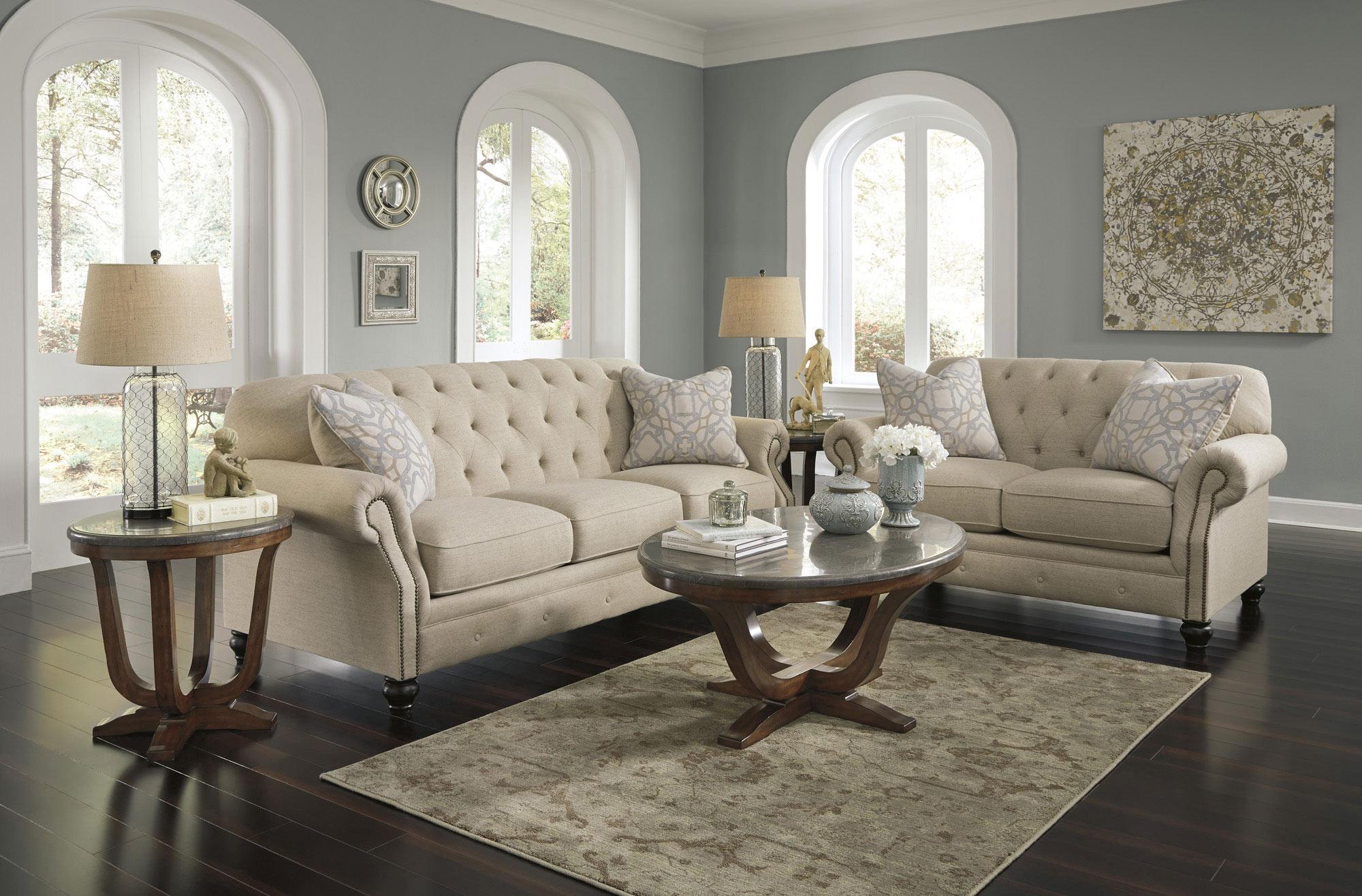 Kieran Sofa Set Ashley Home Gallery Stores Living Room