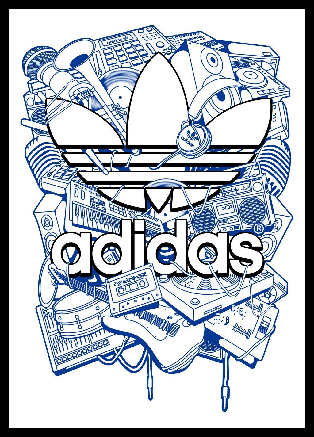 adidas Vector (Terminado) by linkinos Adidas vector