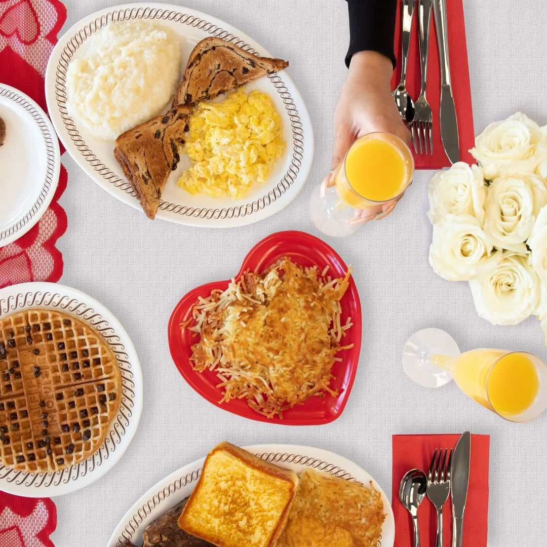 Photo of Valentine's Day is the one night of the year when Waffle…