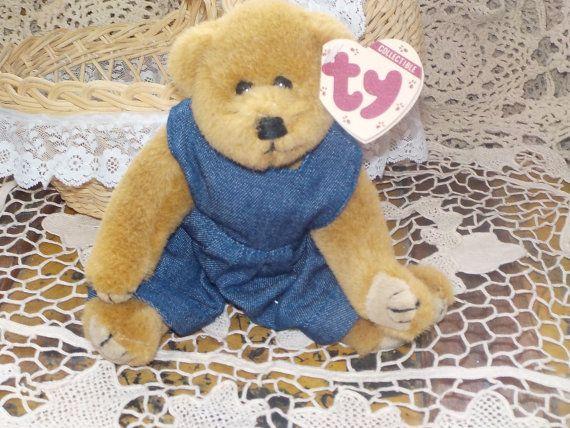 Ty Beanie Baby Bear Gilbert 6006 1993 0b64208d979