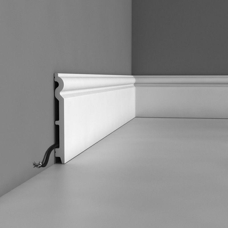 Plinthe Axxent SX 138 Orac Decor architecture du0027intérieur - Decoration Encadrement Porte Interieur