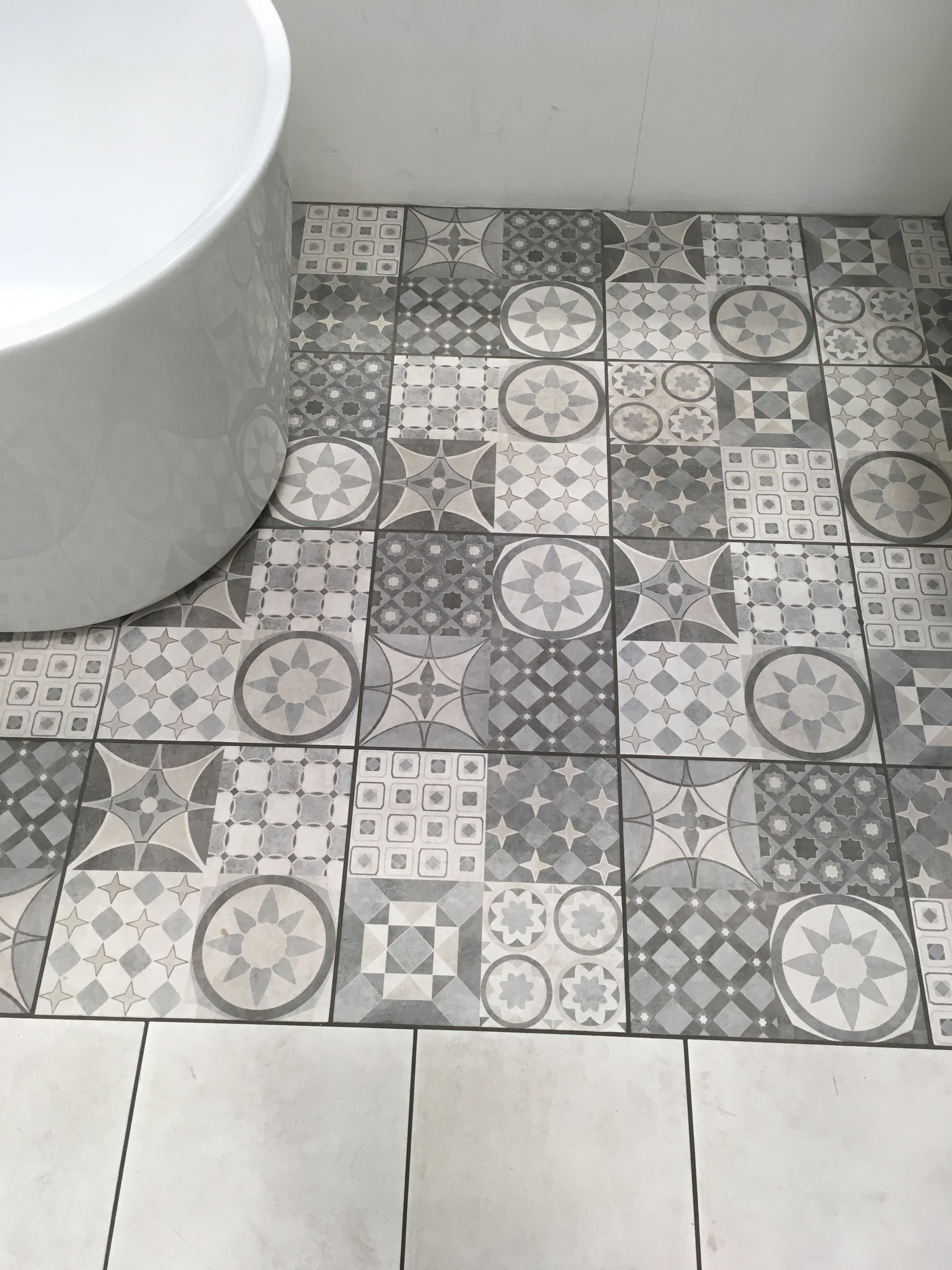 Vinyl Flooring Bathroom B Q