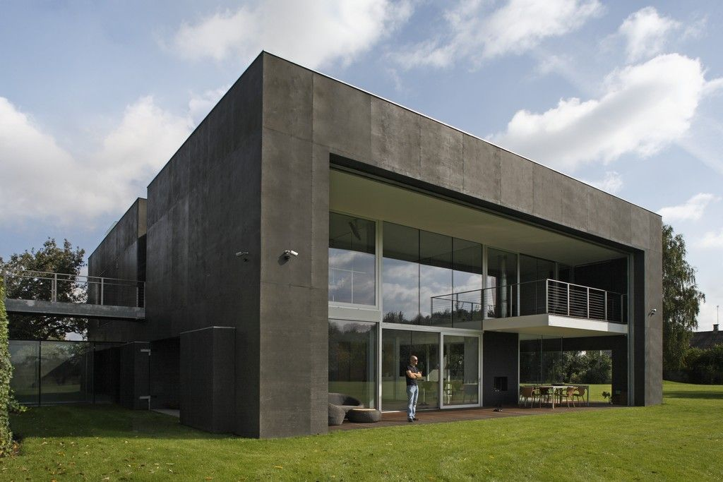 The Safe House Knstrct Fortress House Zombie Proof House Houses In Poland