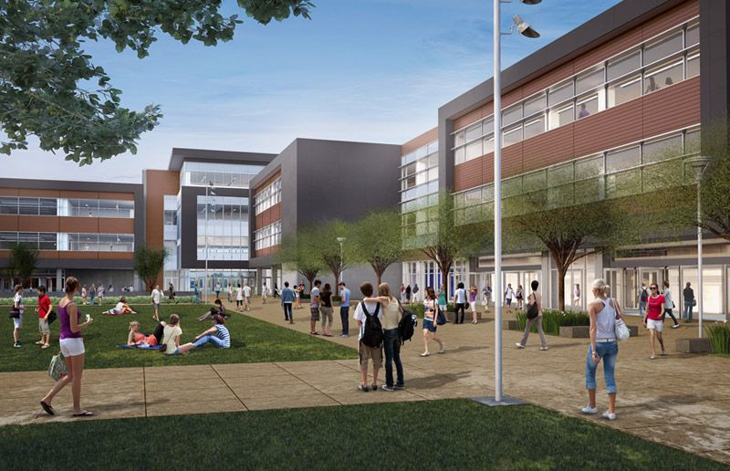 San Marcos High School - Quad | School Design Research | Pinterest ...