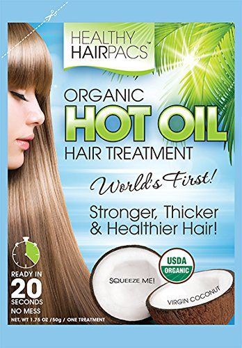 Hot Oil Hair Treatment Organic Coconut By Healthy Hairpacs (4 Pack) - http://essential-organic.com/hot-oil-hair-treatment-organic-coconut-by-healthy-hairpacs-4-pack/