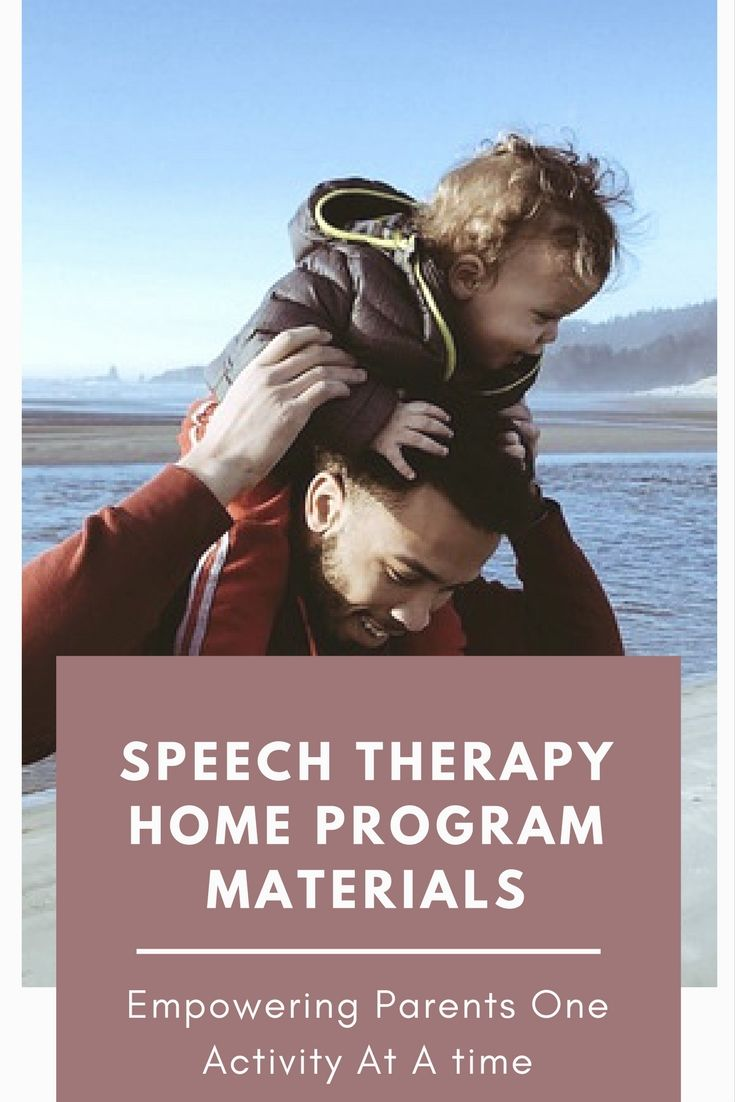 Speech Therapy Materials Free Home Program Speech