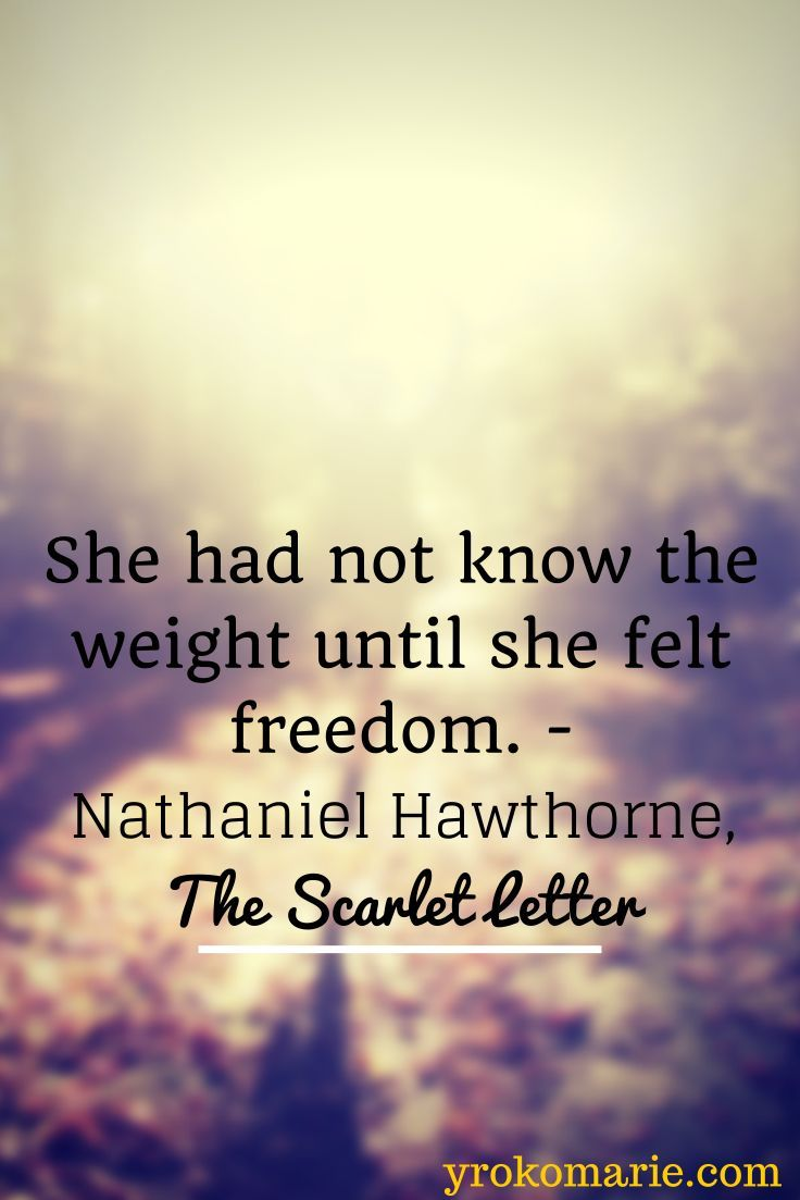 Scarlet Letter Nathaniel Hawthorne Quotes QuotesGram by
