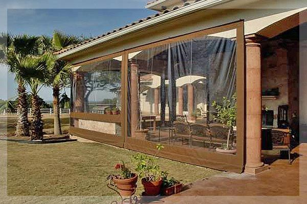 Custom Patio Enclosures From EnclosureGuy.com   Clear Vinyl And Cordura  Covers For Screened Enclosures