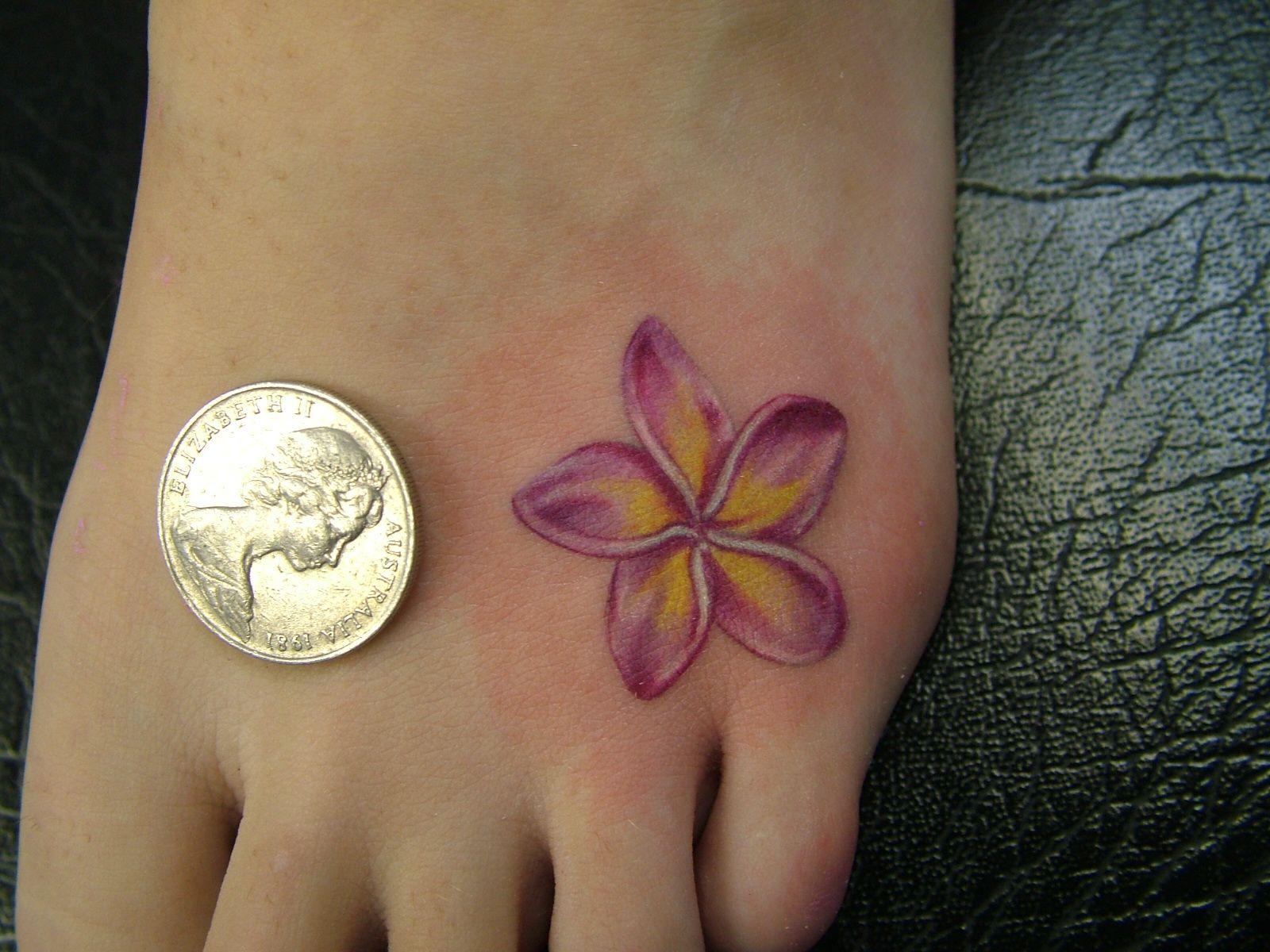 Plumeria Flower Tattoo: I Like This Plumeria