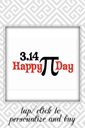 Happy Pi Day 3 14 March 14th Postcard Zazzle Com Happy Pi Day Postcard Pi Day