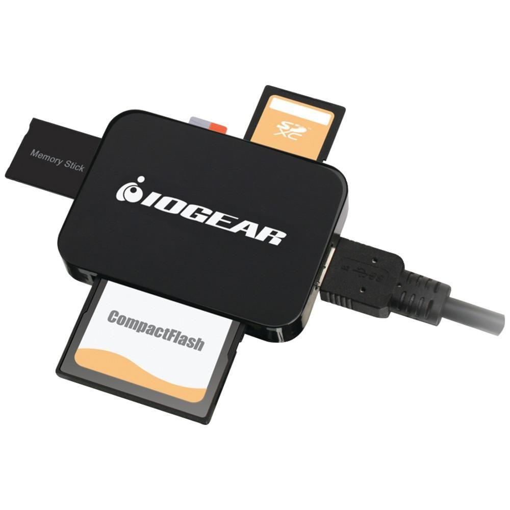 Iogear 59 In 1 Usb 3 0 Memory Card Reader Writer: IOGEAR GFR382 USB 3.0 4-Slot Card Reader/Writer